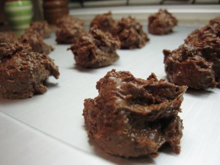 Cookies pre-bake
